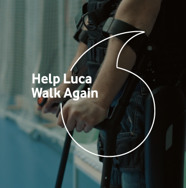 Vodafone <br/> Help Luca Walk Again